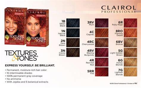 Clairol Textures & Tones Permanent Hair Color Dye Kit
