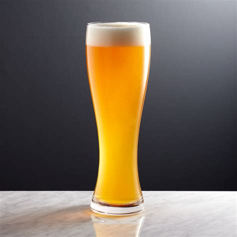 wheat beer glass reviews crate  barrel