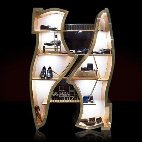 led shoes buying guide von retail department exhibitor led lighted acrylic shoe