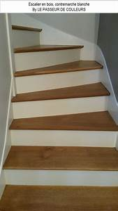15 idees d39escaliers pour vous inspirer decoration et With peindre des escalier en bois