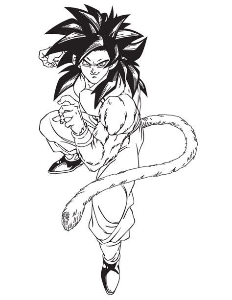 dragon ball  coloring pages goku super saiyan
