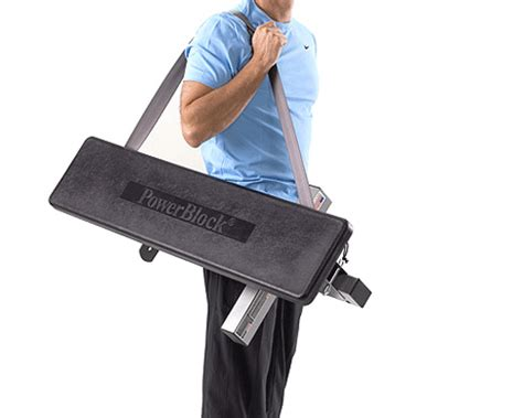 portable weight bench the powerblock travel bench portable and durable