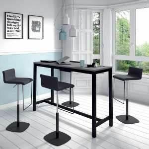 Table De Cuisine Grise : table hauteur 110 cm 4 ~ Teatrodelosmanantiales.com Idées de Décoration