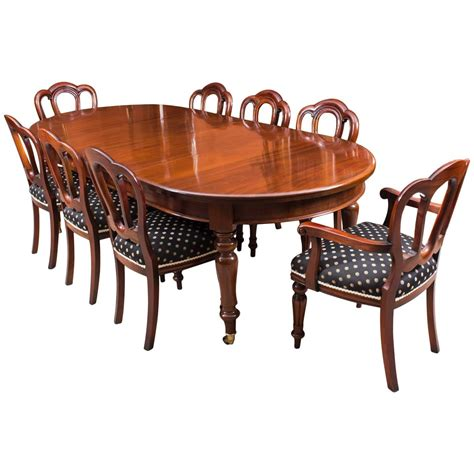 antique dining table and chairs antique victorian mahogany dining table c1880 and eight