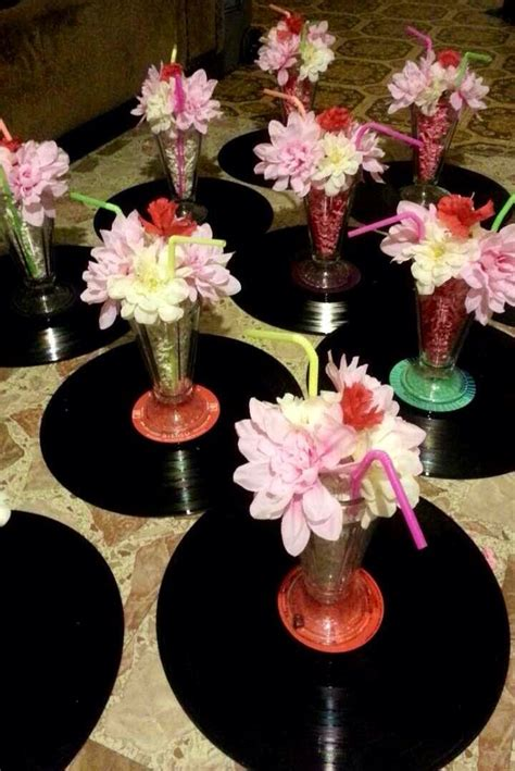 easy diy  themed centerpieces  themed parties
