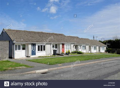 Small Terraced Bungalows Providing Sheltered Retirement