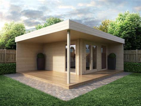 Modernes Haus Mit Garten by Modern Garden Office Hansa Lounge With Veranda 12m 178 44mm