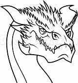 Easy Draw Drawing Smaug Coloring Step Hobbit Pages Dragon Dragoart Drawings Sketch Fantasy Dragons Eye Lord Printable Rings Steps Elves sketch template