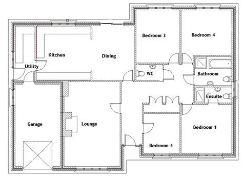 four bedroom house plans one 100 2 4 bedroom house plans modern 2 house