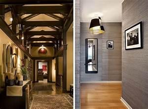 62 ideen fur farbgestaltung im flur und eingangsbereich With balkon teppich mit tapeten flur beispiele