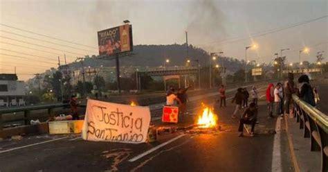 Pobladores de San Juanico bloquean la México-Pachuca tras ...