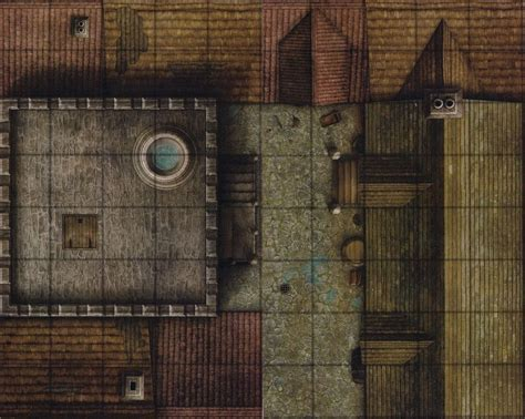 dungeons dragons watchtower parapet gamemastery d d map
