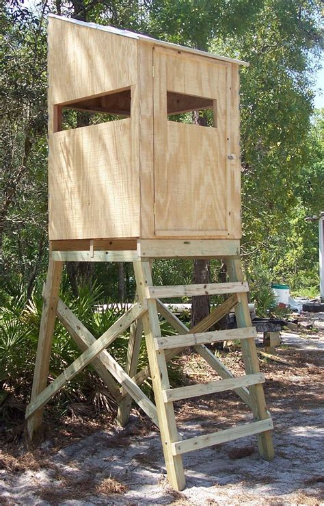 elevated pop up blind stand anyone make a platform for pop