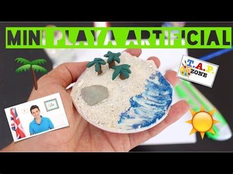 como hacer una maqueta de playa tap zone youtube