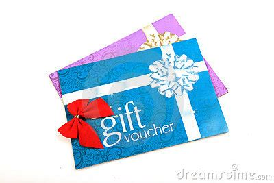 gift vouchers royalty  stock photo image
