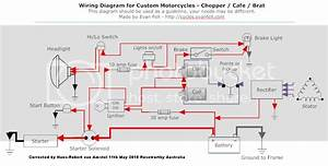 Wiring Diagram For Custom Motorcycles