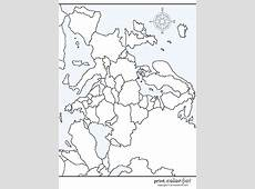 Map of Europe coloring page Print Color Fun!