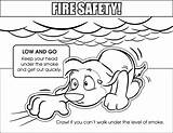 Safety Coloring Pages Low Fire Colouring Sketch Sheets Template Medium Downloadable Sketches sketch template