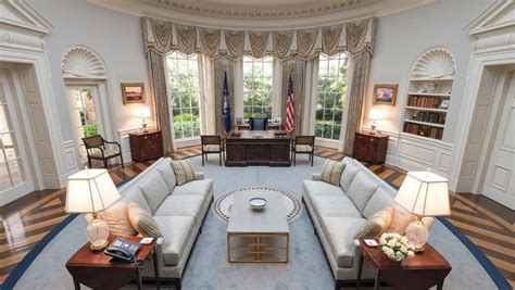 3 Tv Set Designers On How They'd Design The Oval Office