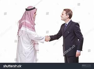Arab Person Shaking Hands Businessman Stock Photo 39776956 ...