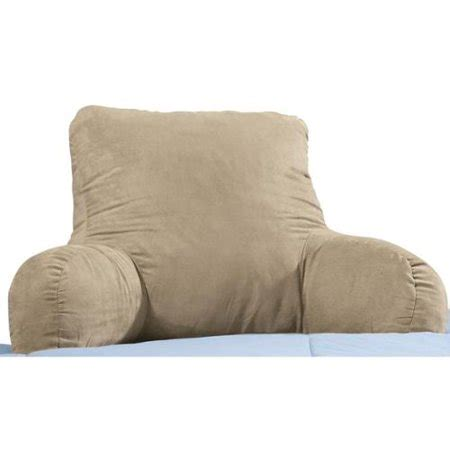 backrest pillow with arms walterdrake backrest pillow walmart