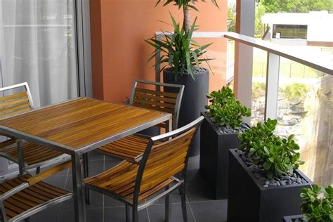 Fresh White Based Dining Spaces by Furnitures Designing Balcony Furniture For Fresh