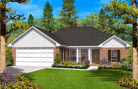 Split Bedroom Ranch Home Plan  11700hz  1st Floor Master