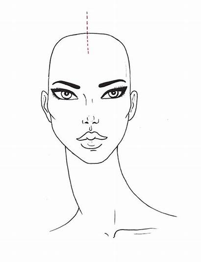 Face Drawing Draw Sketches Curly Sketch Templates