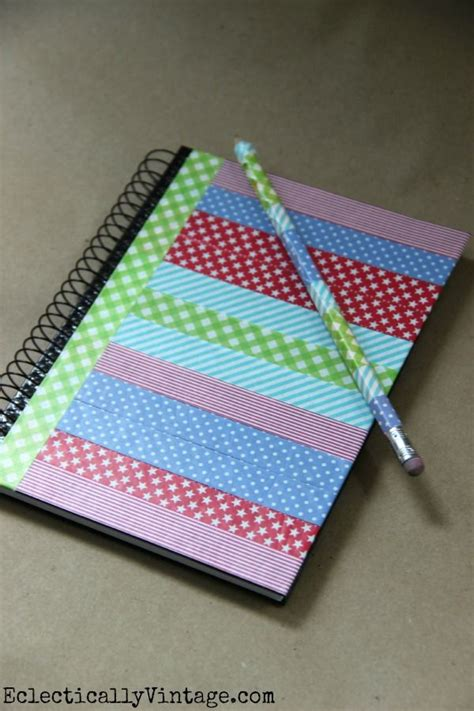 decorative notebooks 25 best ideas about washi notebook on