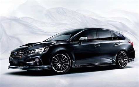 subaru levorg subaru levorg sti sport revealed as new hotted up wagon
