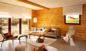home interior ls decorar una casa de madera