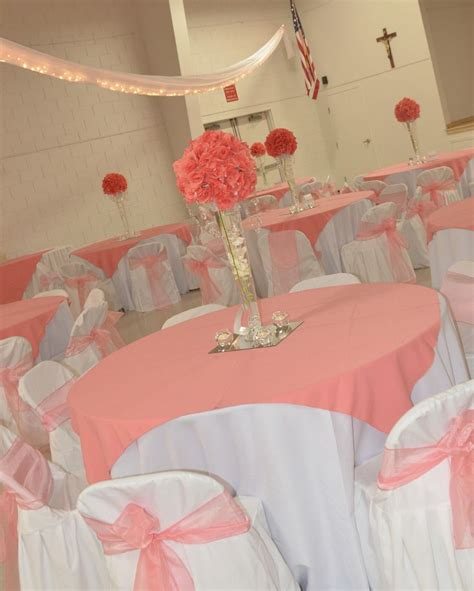 Coral Color Decorations For Wedding by 1000 Images About Centerpieces On