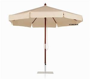 Parasol De Terrasse : parasol rond bois 3m ~ Teatrodelosmanantiales.com Idées de Décoration