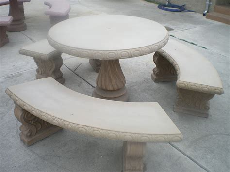 amazing outdoor concrete furniture and concrete cement