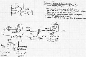 Simple Pulse Oximeter Circuit Diagram
