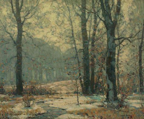 john fabian carlson   winter morning mists