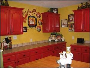 decorating theme bedrooms maries manor fat chef With kitchen colors with white cabinets with fat chef wall art