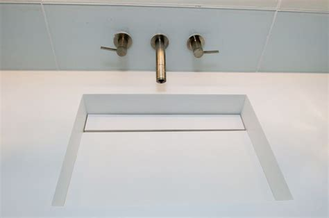 integrated bathroom sink and countertop white corian integrated sink and countertop main bath