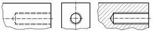Technische Zeichnung Ansichten : gewinde schrauben darstellen technisches zeichnen ~ Yasmunasinghe.com Haus und Dekorationen
