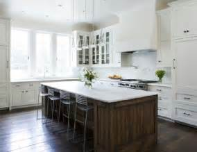 white kitchen island with top white kitchen cabinets with rubbed bronze hardware transitional kitchen michael