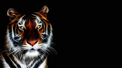 Animated Hd Wallpapers - abstract tiger wallpaper 3d