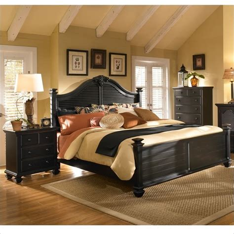 Cymax Bedroom Sets by Broyhill Mirren Pointe Arched Panel Bed 3 Pc Bedroom Set