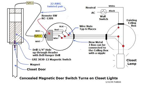 Automatic Closet Lights Electrical Page Diy