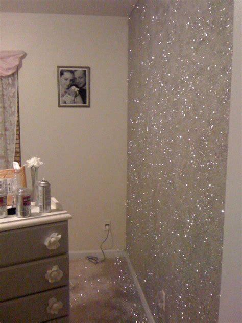 25 best ideas about glitter paint walls on