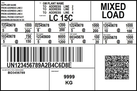 The labels can be applied to both pallet shipments and individual cartons. LabelRIGHT Ultimate for Windows Bar Code Label Design and Printing Software - Worth Data