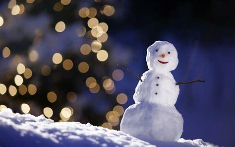 aesthetic snowman hd computer wallpaper 16