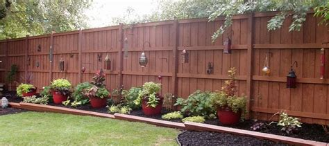Stains, Backyards And Fence Ideas