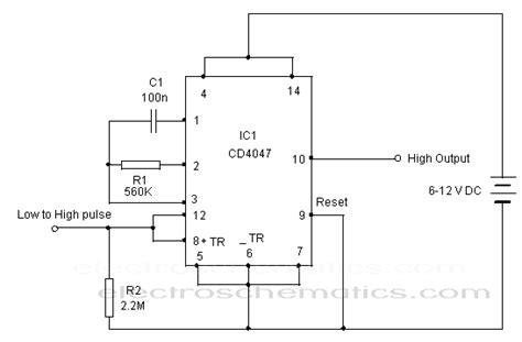 Retriggerable Monostable Circuit