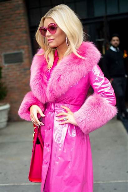 Simpson Jessica Pink York Ensemble Coat Saks