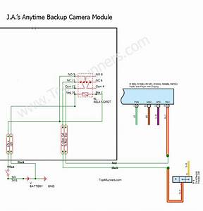 2008 Toyota Highlander Backup Camera Wiring Diagram Black